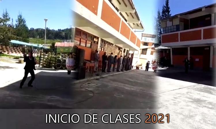 INICIO DE CLASES AÑO ACADÉMICO  2021.
